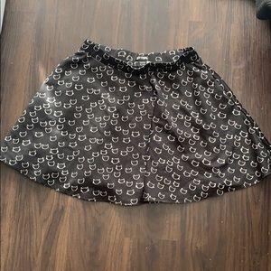 Hot topic Cat Skater Skirt